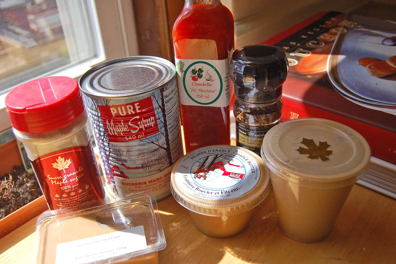 maple syrup products