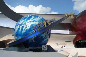 Mission: Space entrance
