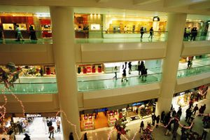 Hong Kong, Central District, Pacific Place shopping mall