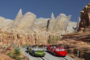 Radiator Springs Racers at Disney California Adventure