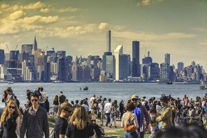 View of Manhattan from East River State Park