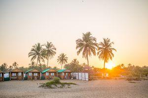 Agonda beach in Goa.