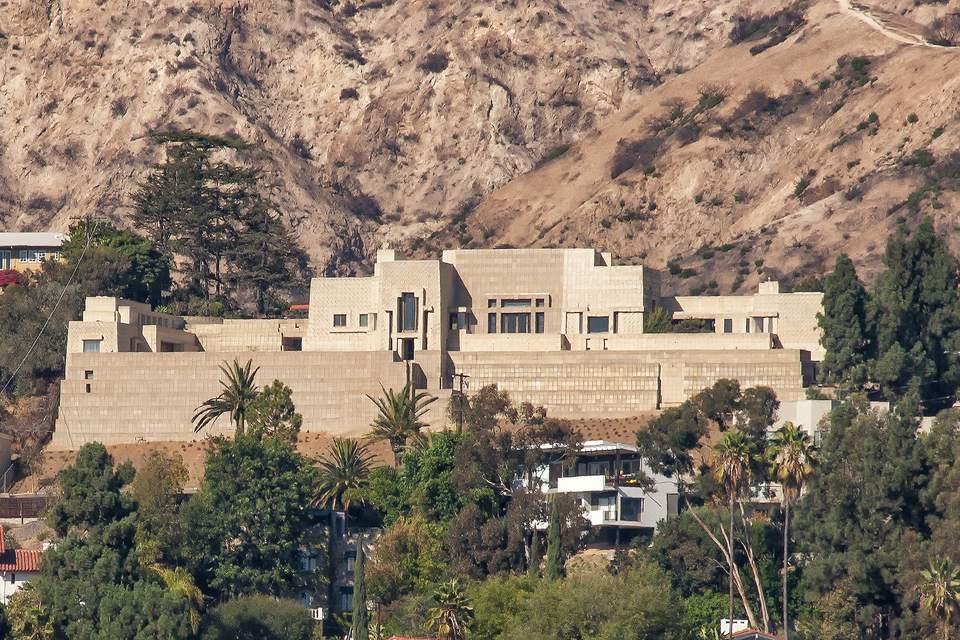 Ennis House, Los Angeles por Frank Lloyd Wright