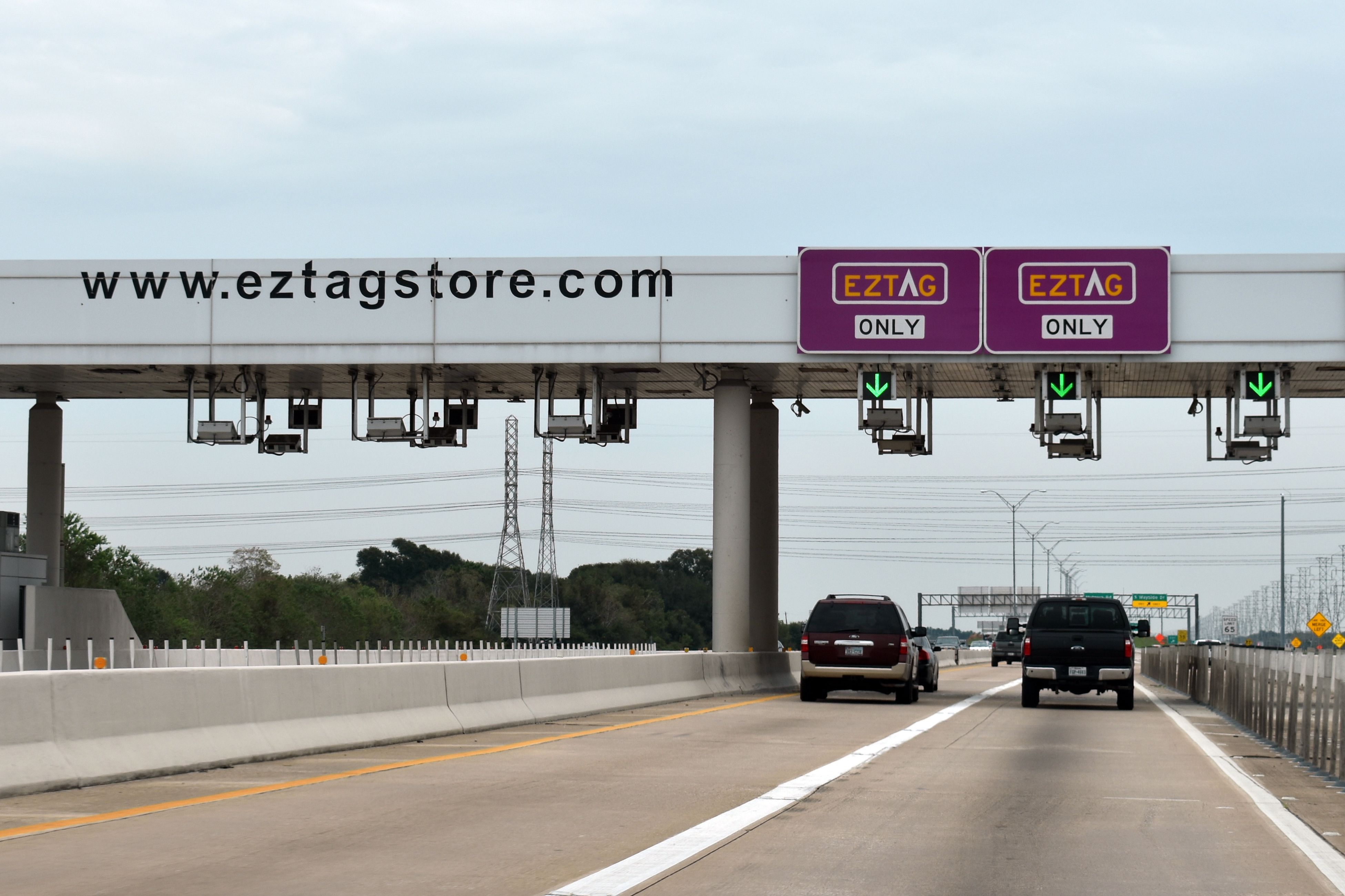 EZ Tag Sign in Houston
