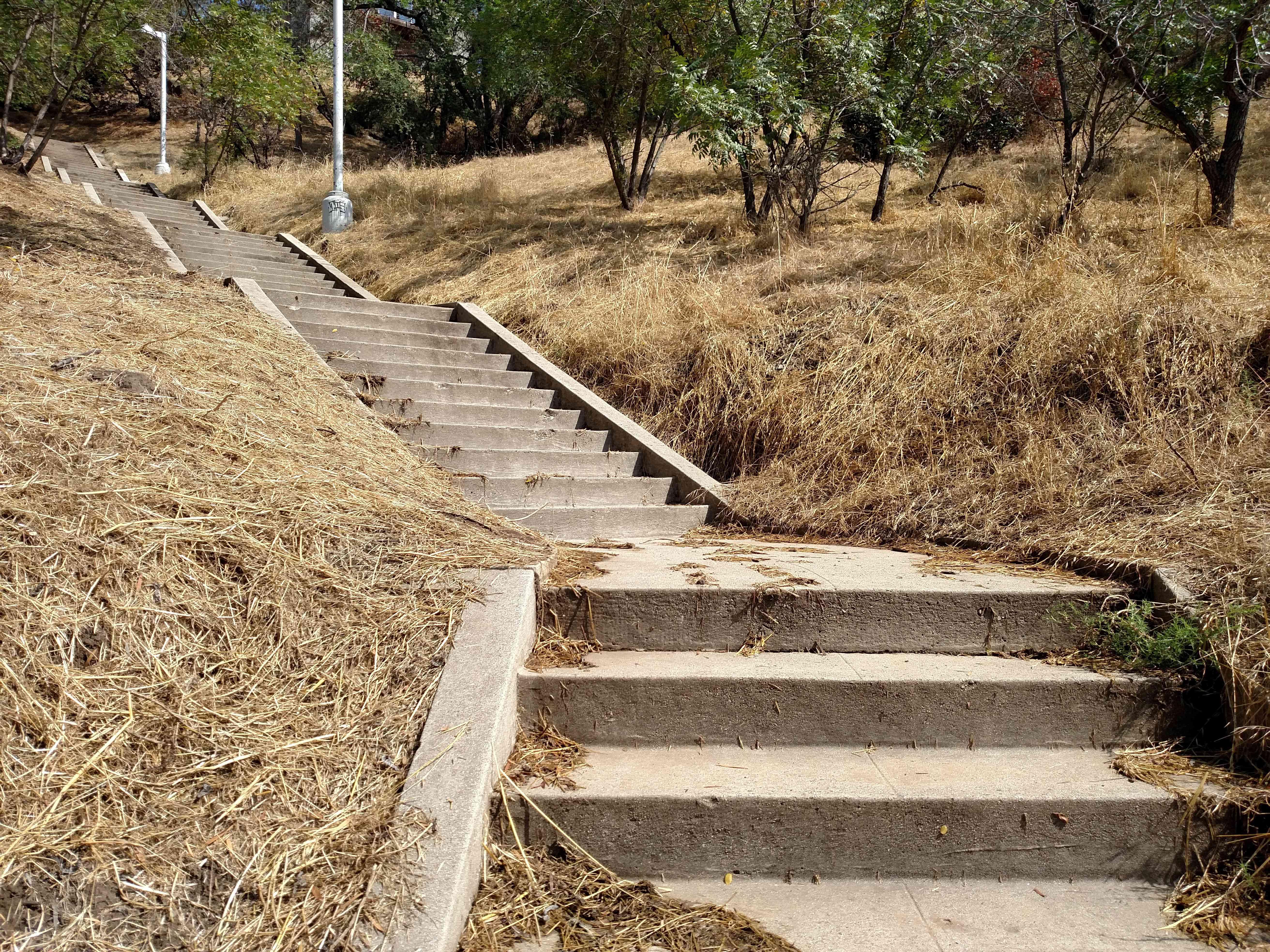 Baxter Street Stairs