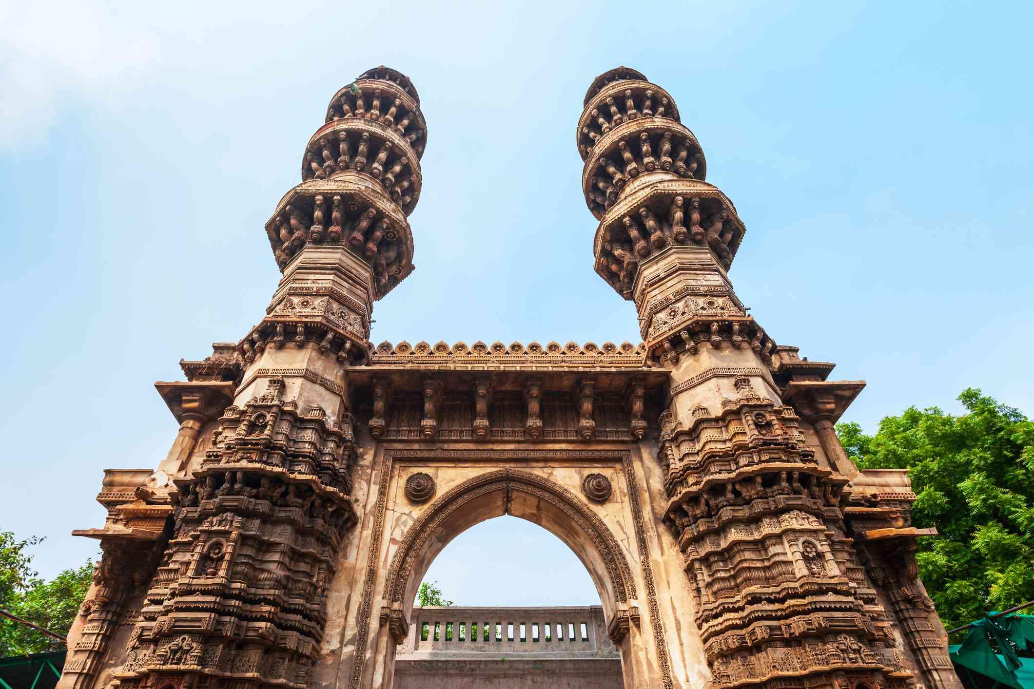 Sidi Bashir Mosque in Ahmedabad