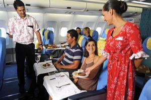 flight to tahiti