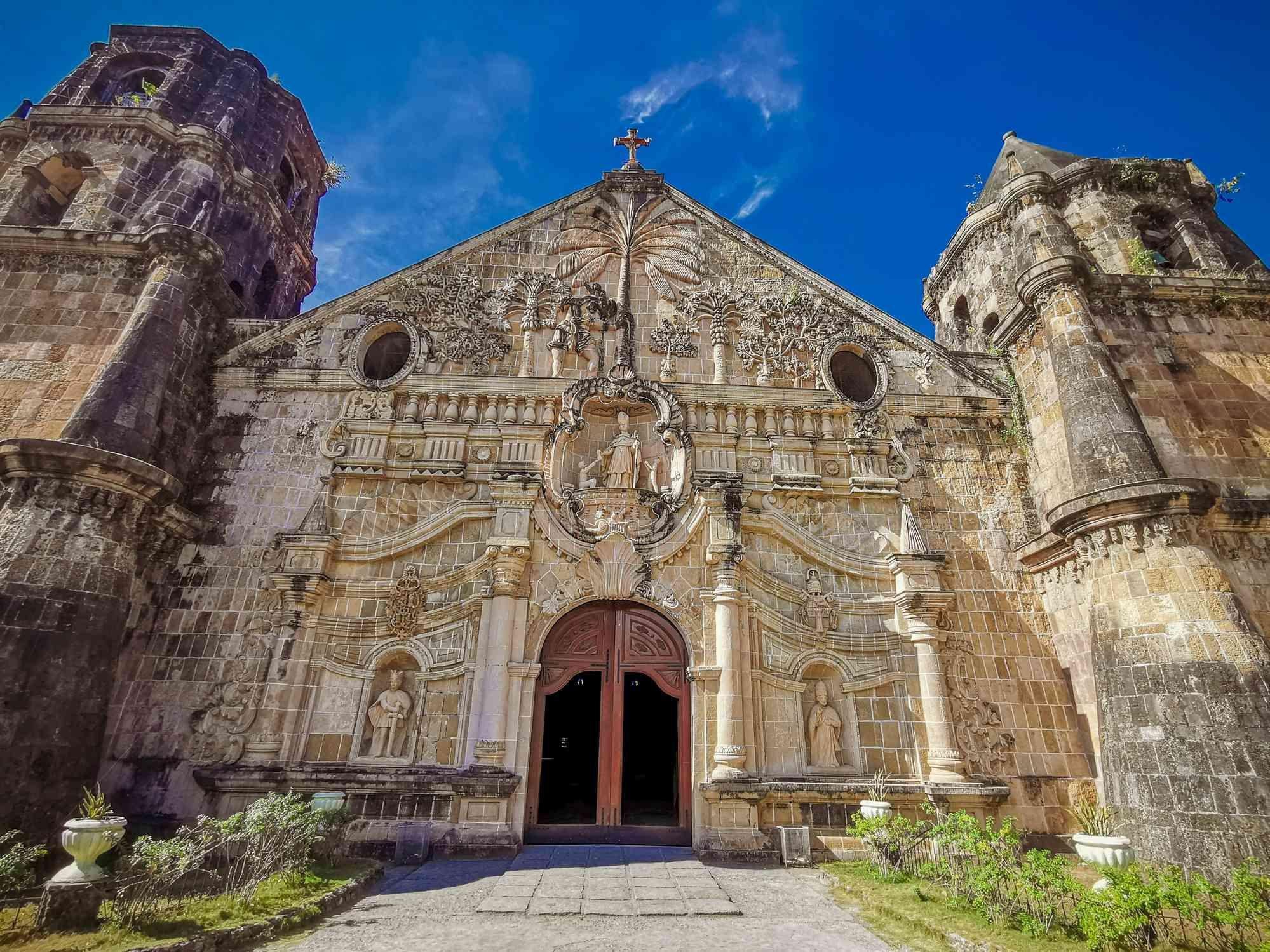 Iglesia de Miag-ao, Iloilo, Filipinas