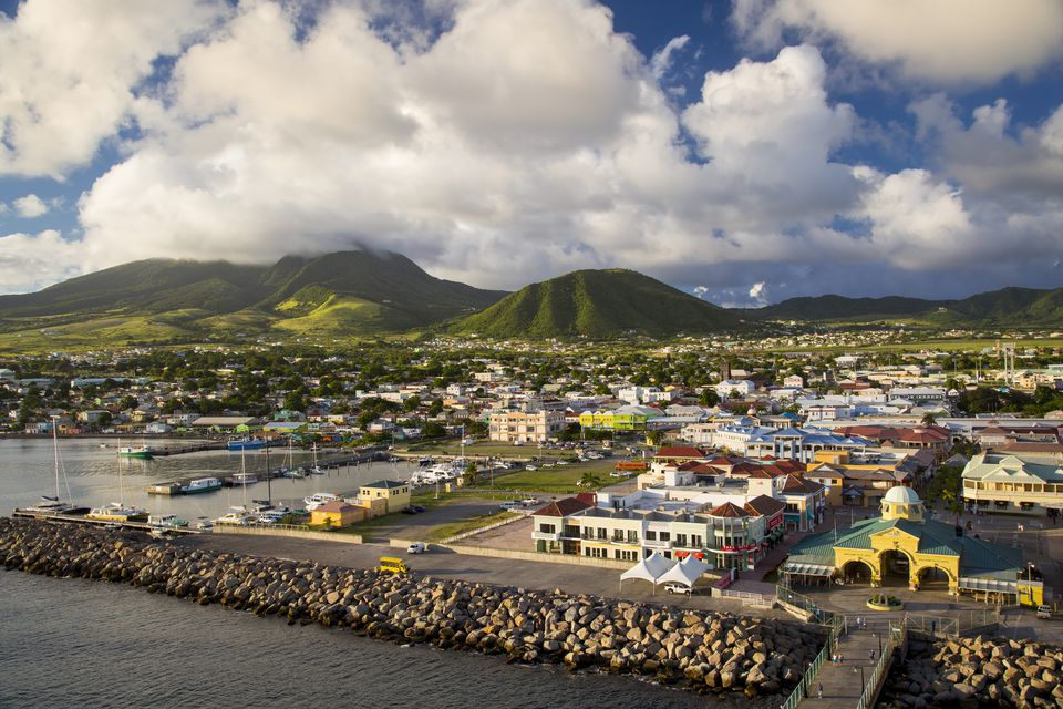 Basseterre, St Kitts, West Indies