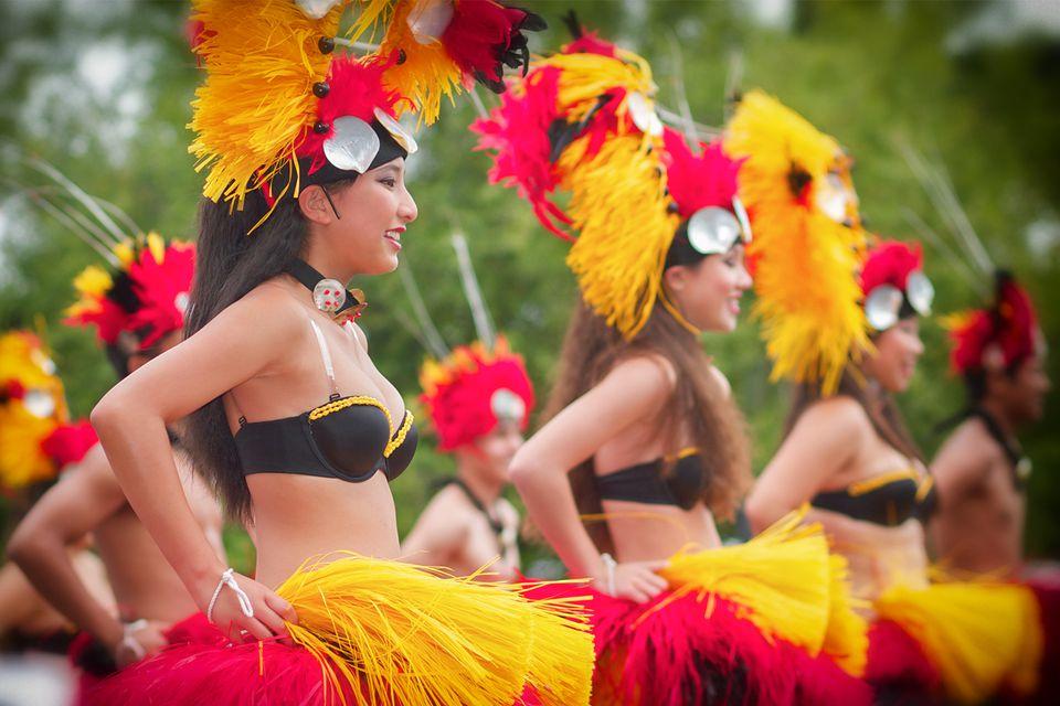 Dancers at the Nihonmachi Street Fair