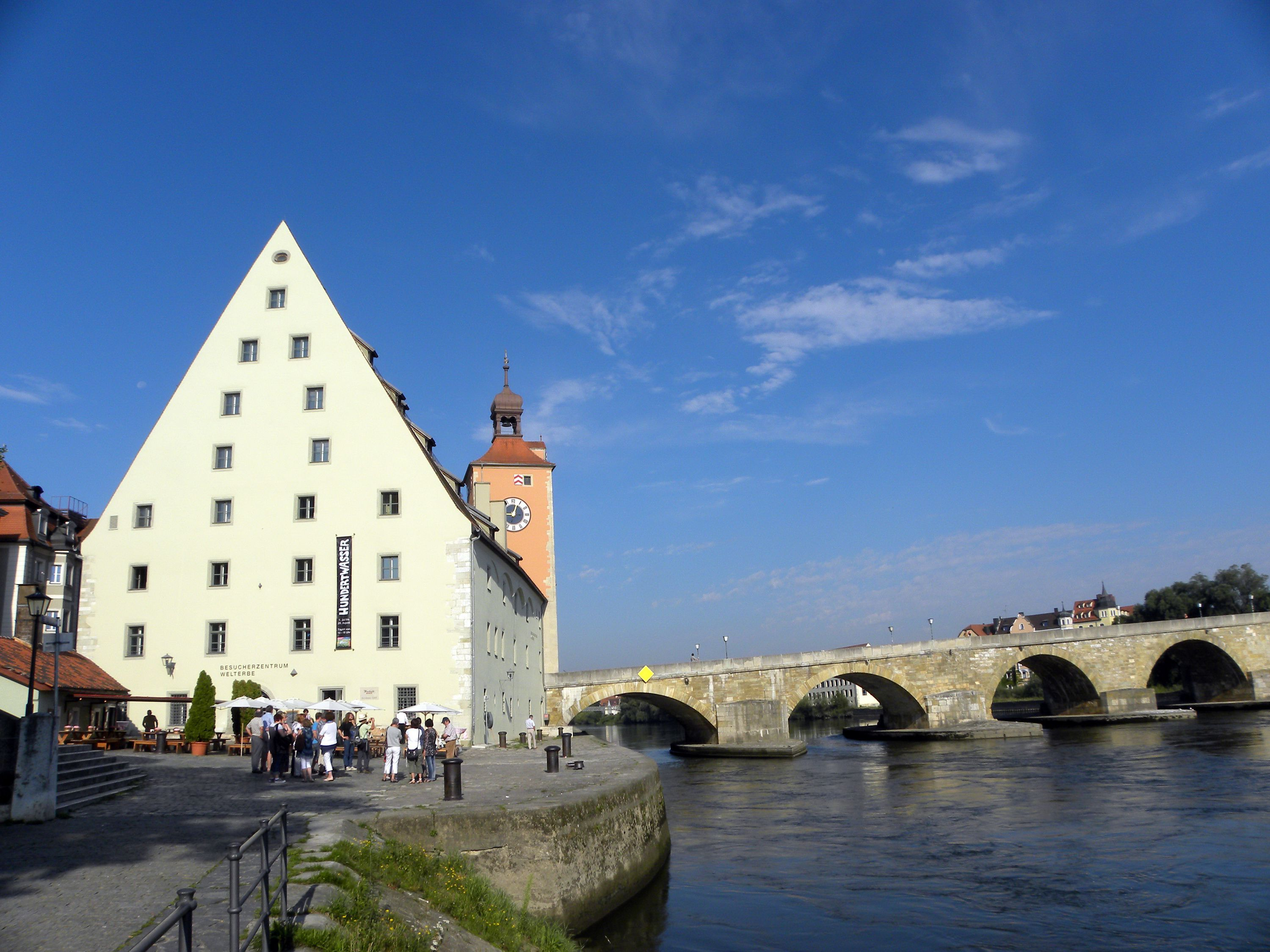 Regensburg Germany Oldest Town On The Danube River