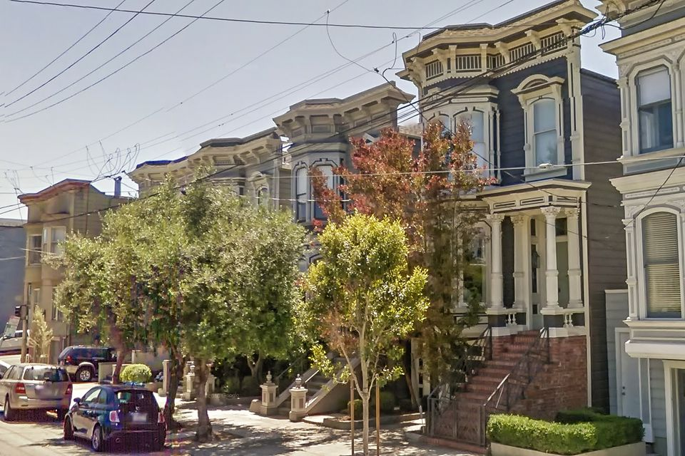 The Full House At 1709 Broderick In San Francisco