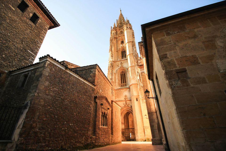 View of Santiago de Compostela