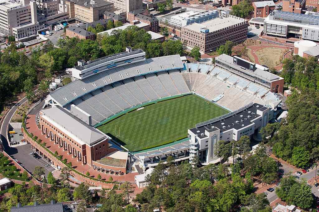 Aerial View of Kenan Stadium