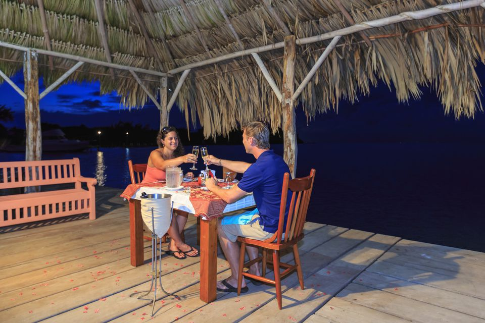 Dining in Belize