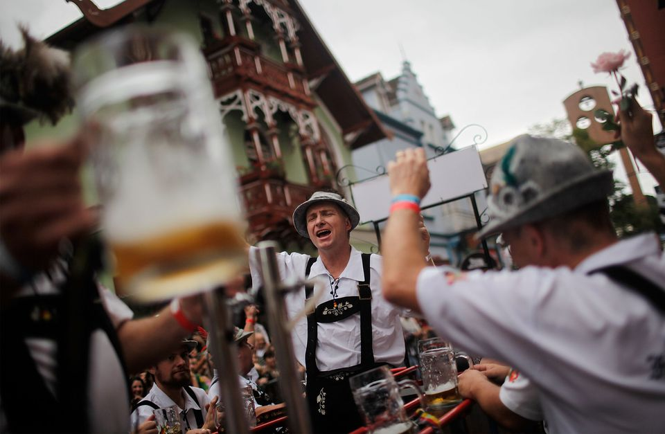 Brazilian City Of Blumenau Holds Its Annual Oktoberfest