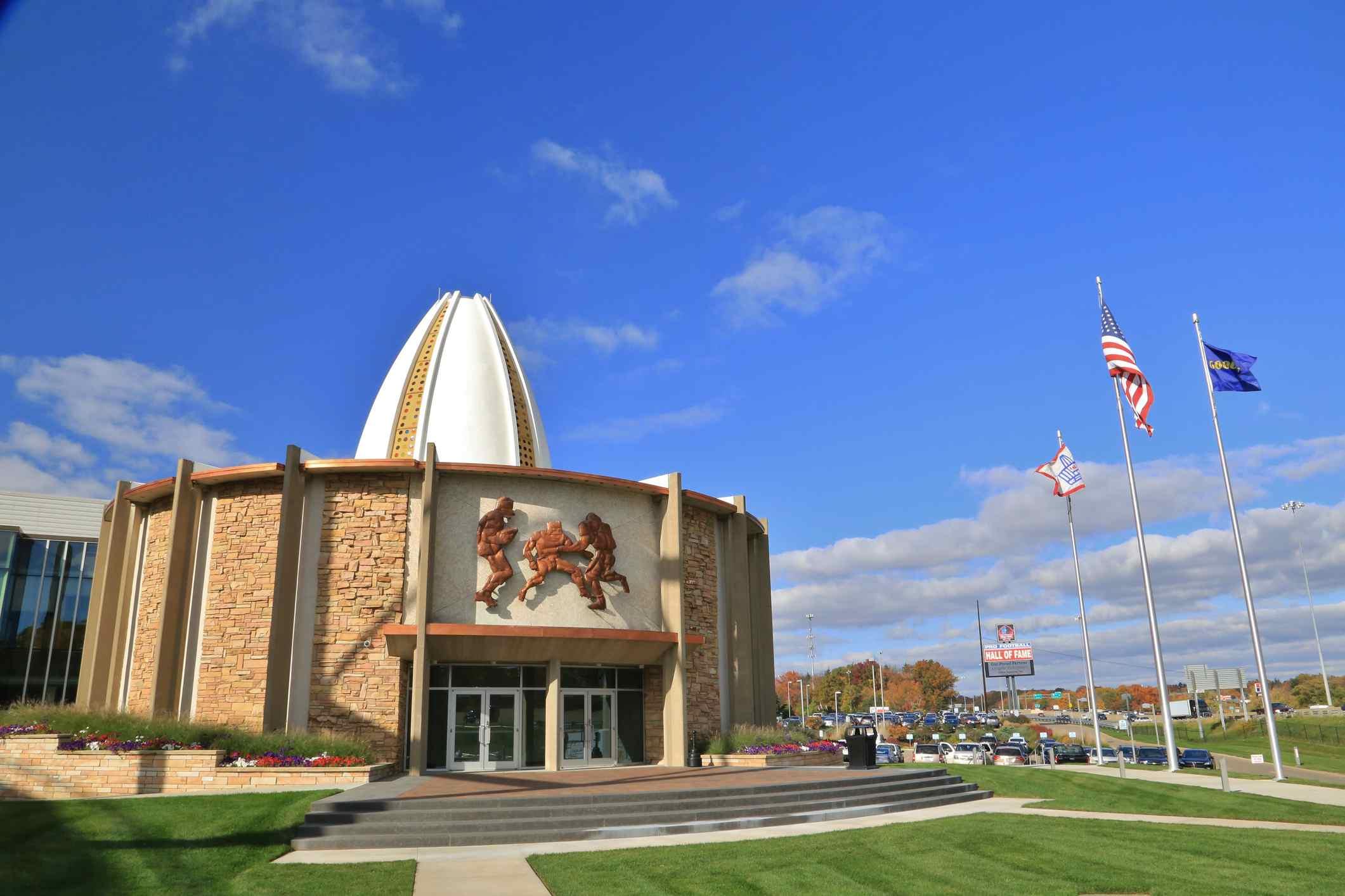 National Football Leage Pro Football Hall Of Fame, NFL , Canton, Ohio, USA
