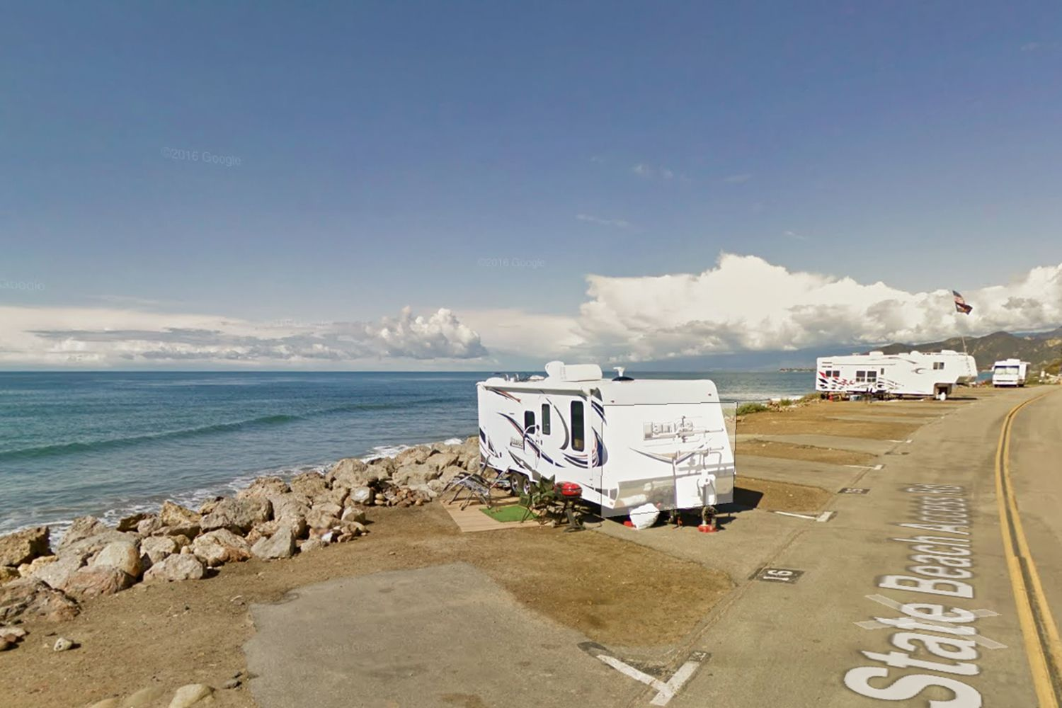 Beach Camping In Ventura County California