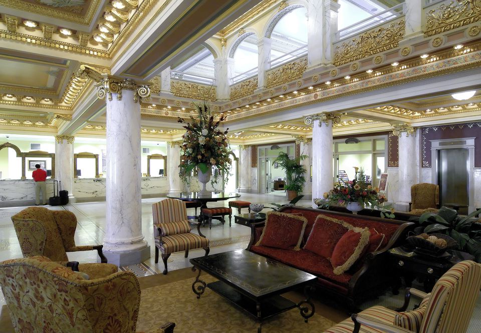 Lobby at French Lick Resort
