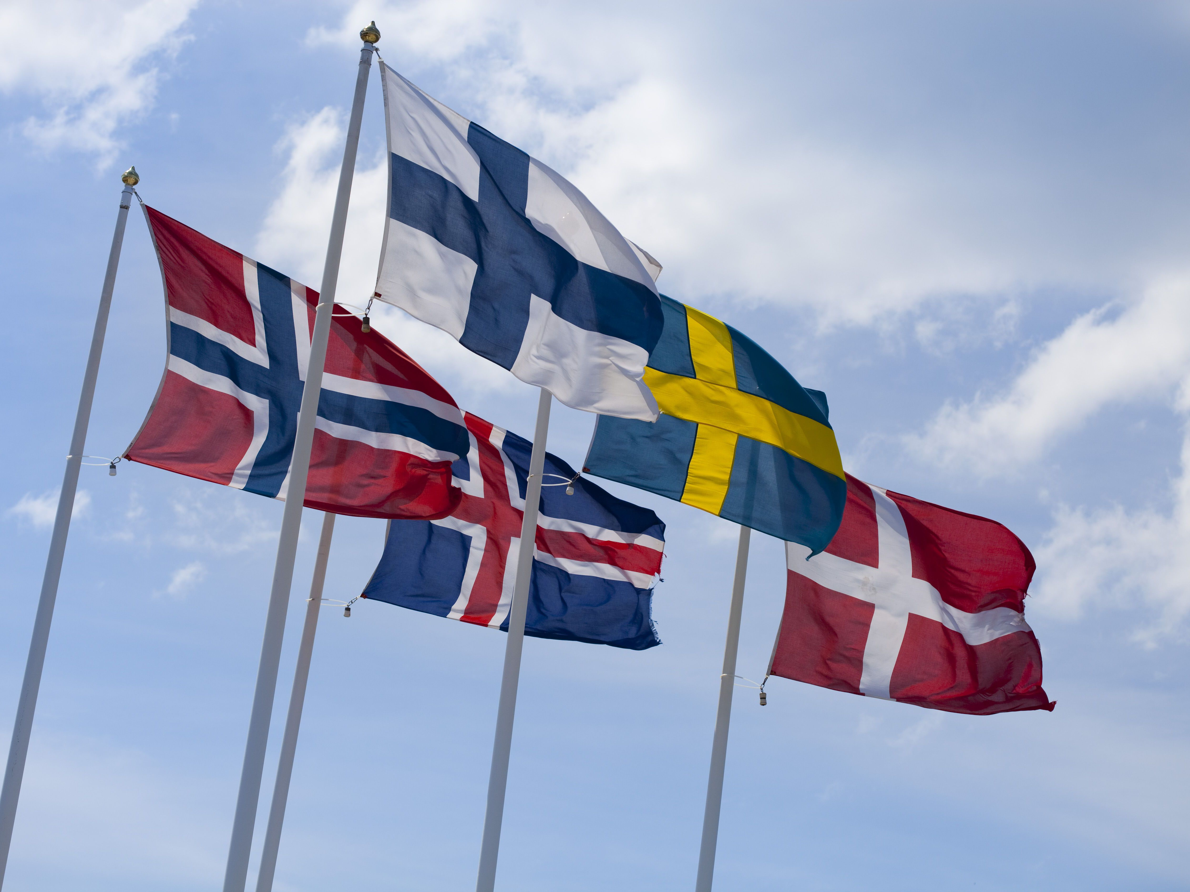 The Official And Unofficial Flags In Scandinavia