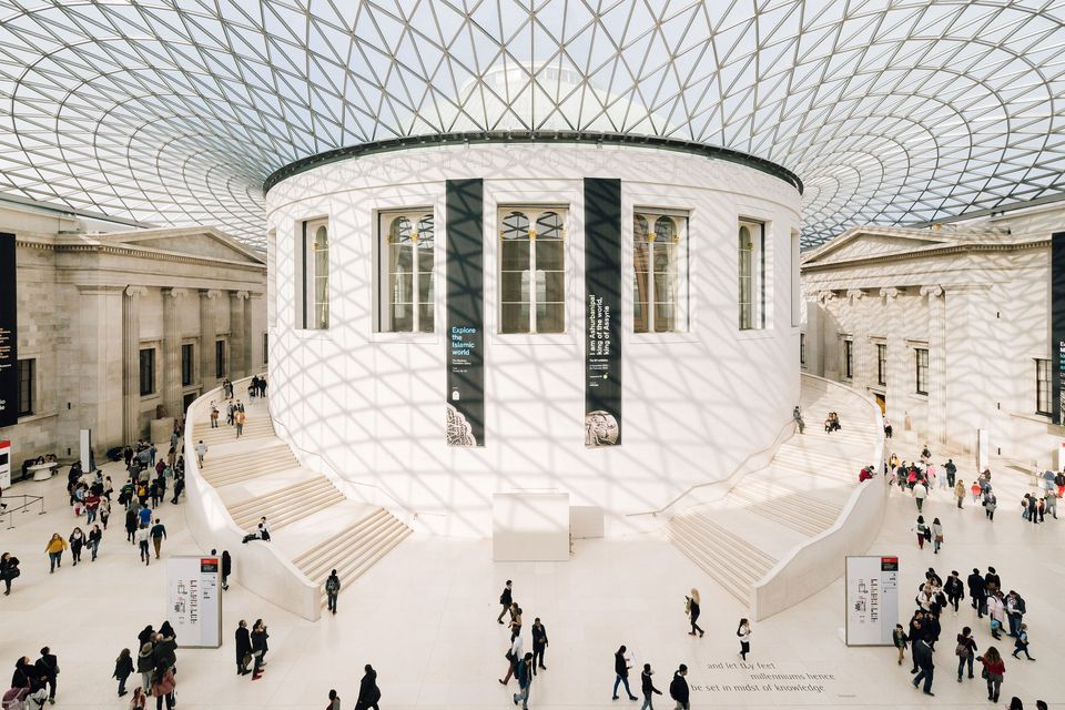 The British Museum Main Lobby