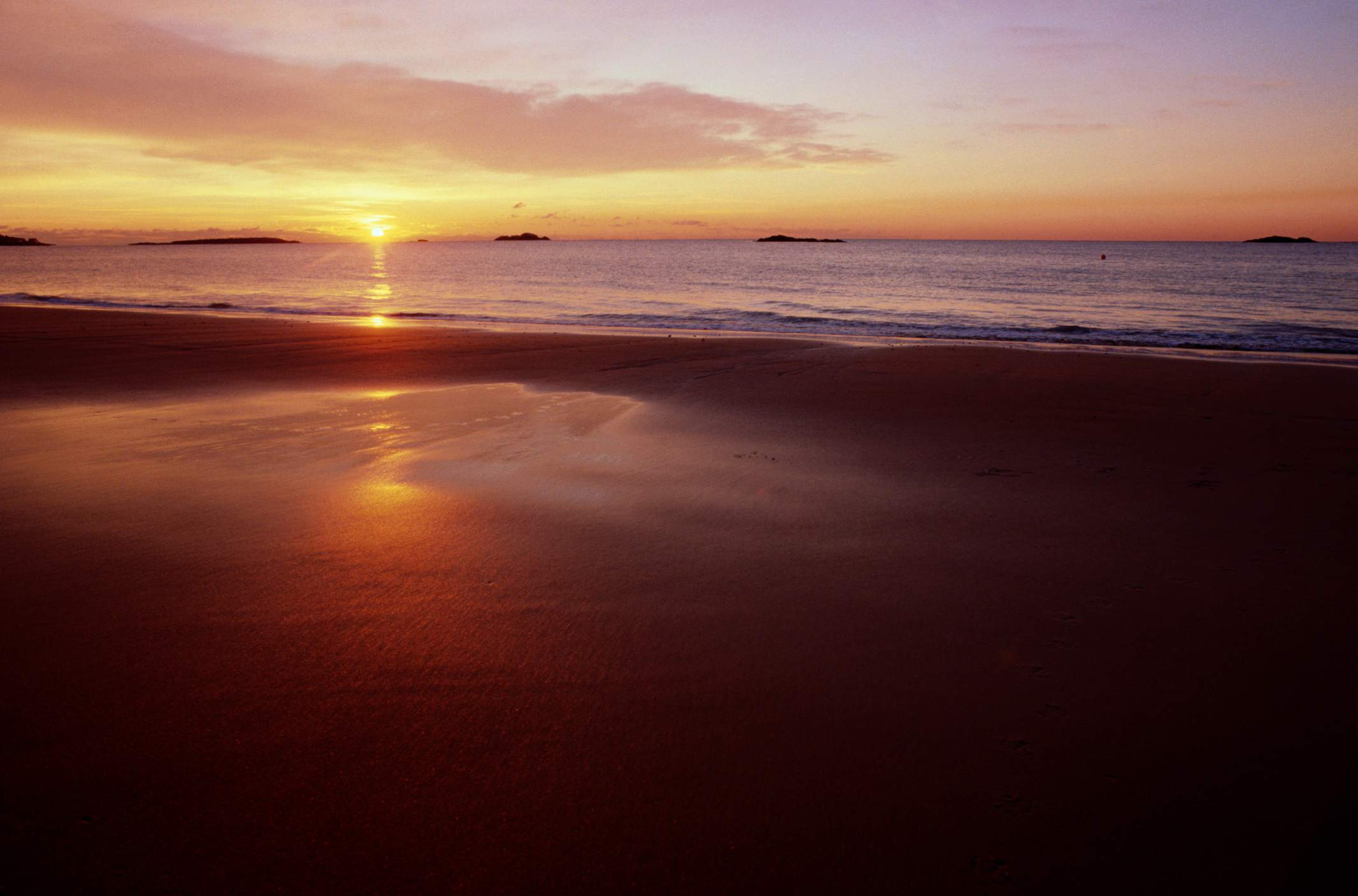 Manchester-by-the-sea, Singing Beach, sunrise