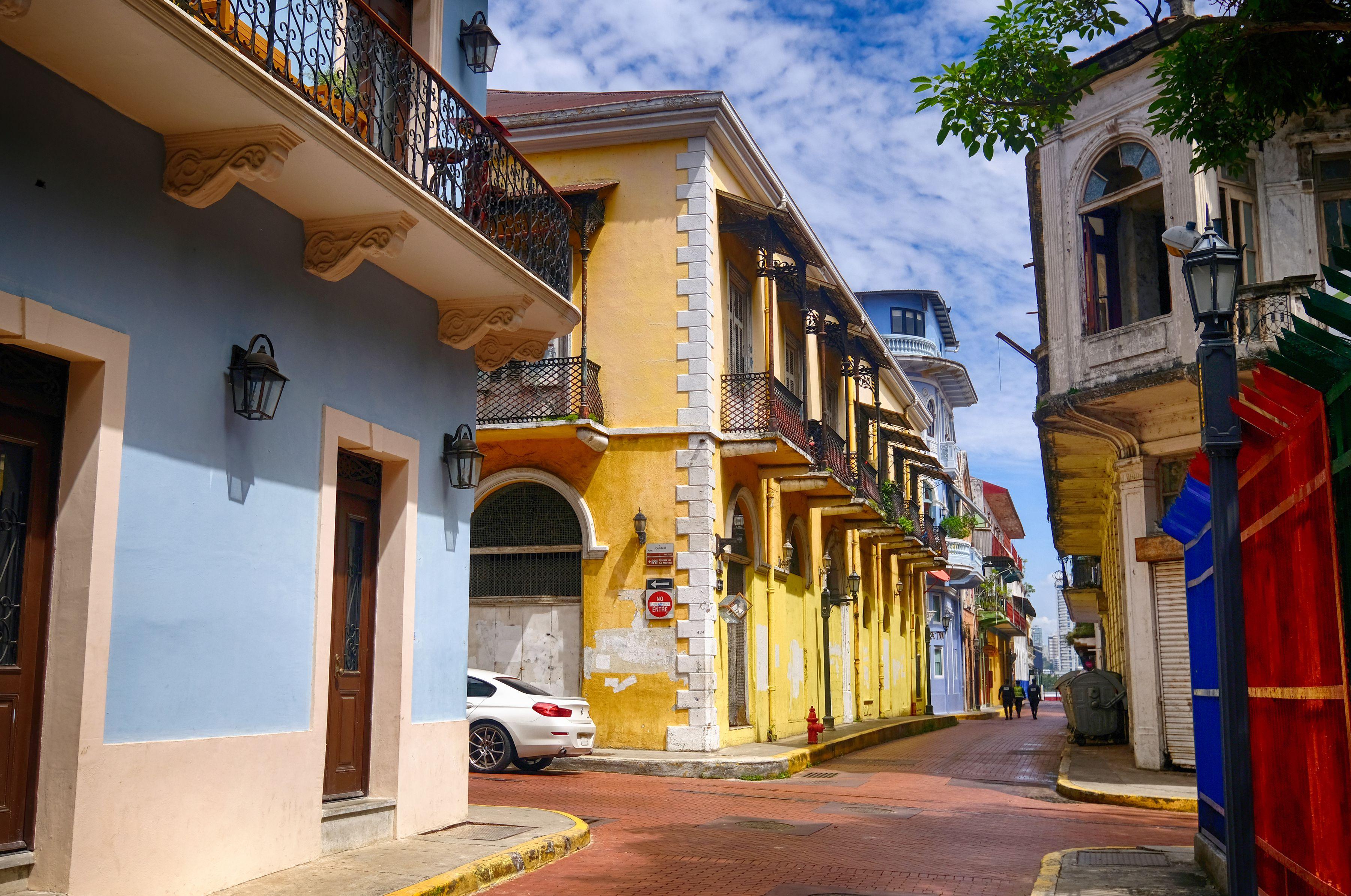 Casco Viejo at Panama City, Panama