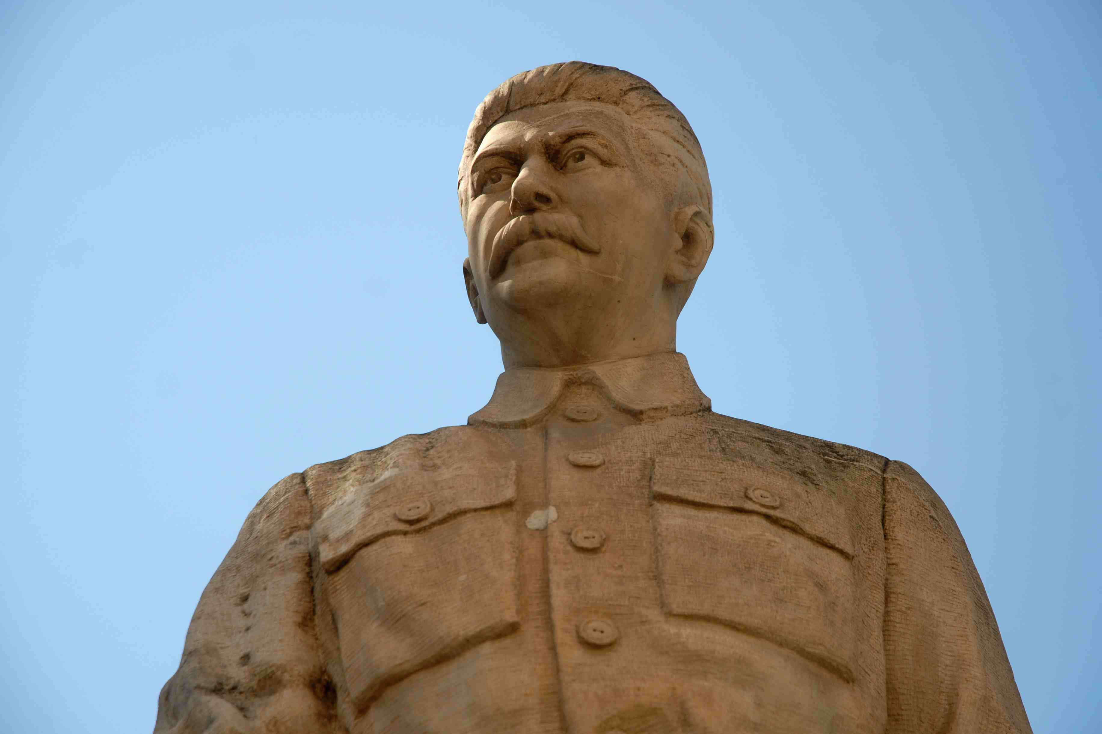 Stalin Statue in Gori, Georgia