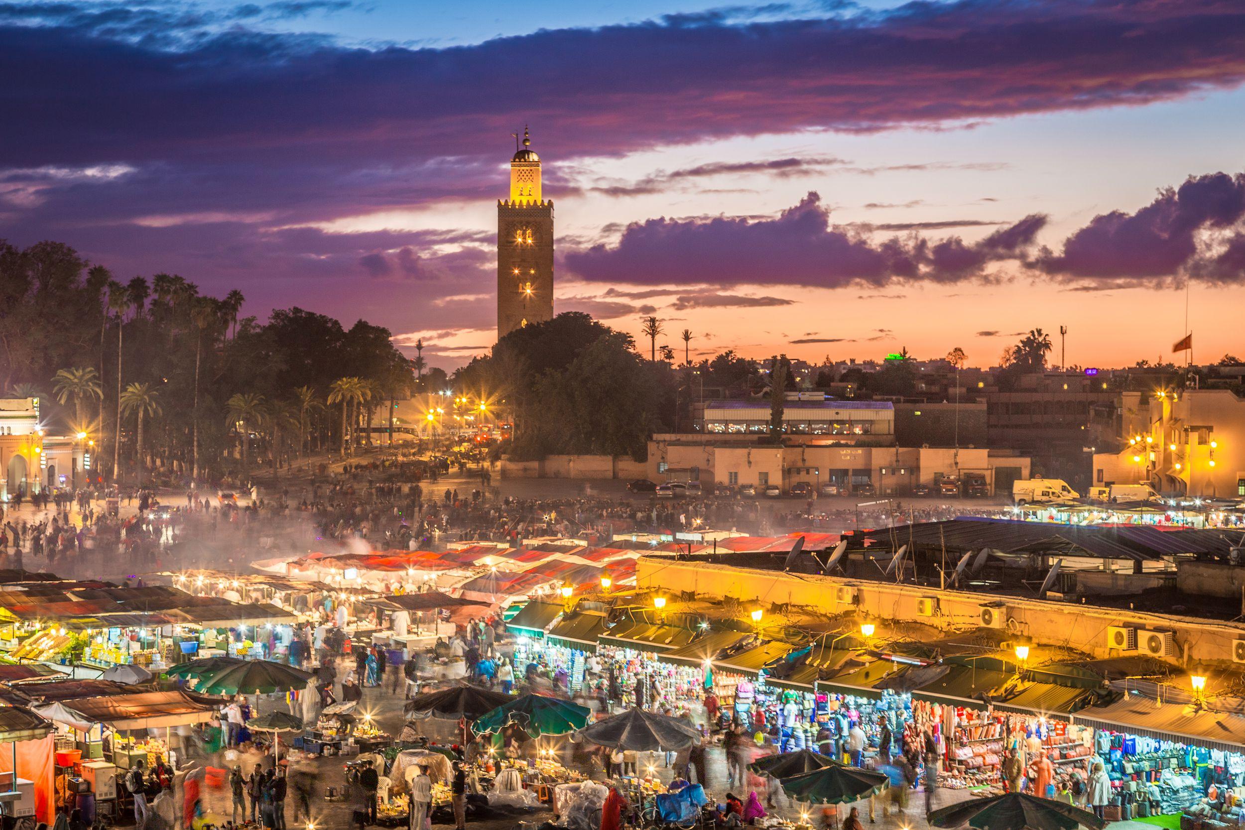El Djemaa El Fna en Marrakech