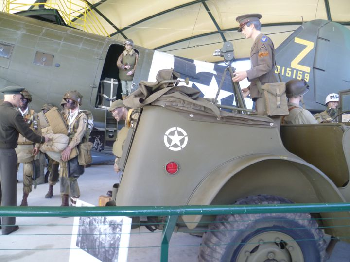 Airborne Museum, Ste-Mere Eglise, Normandy