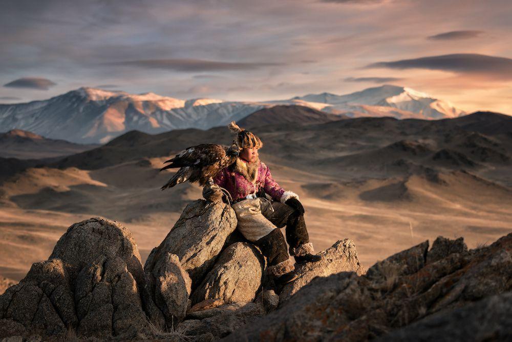 eagle hunter, Altai Mountains, Mongolia