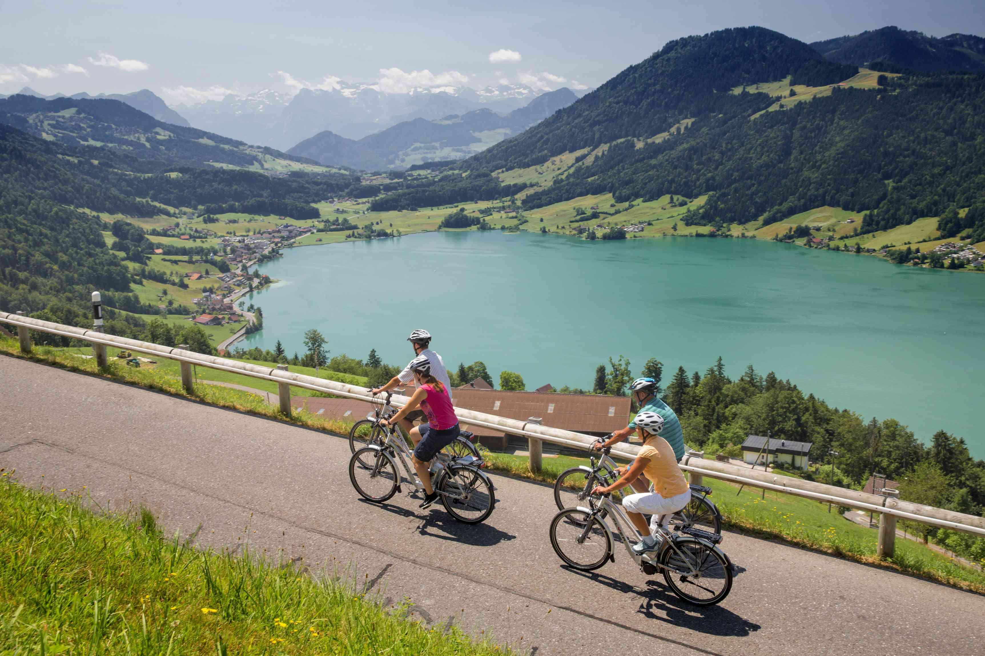 Biking near Einsiedeln