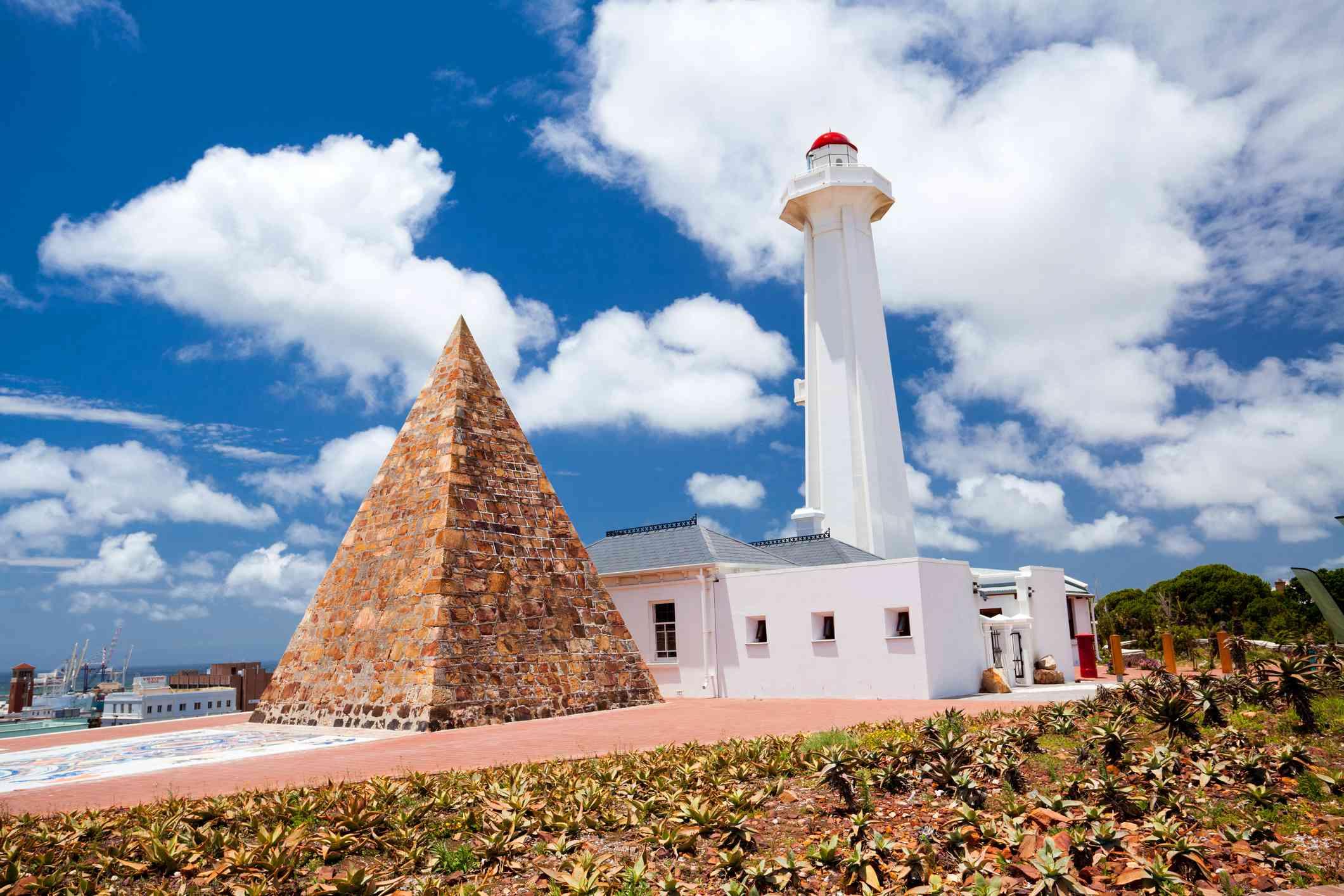 Pyramid at Donkin Reserve, Port Elizabeth