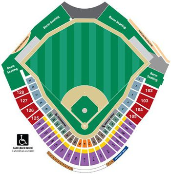 Hohokam Stadium Seating Chart For Oakland A S