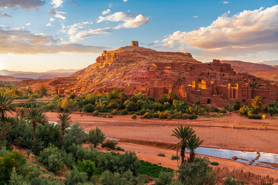 The fortified village of Ait Benhaddou, Morocco