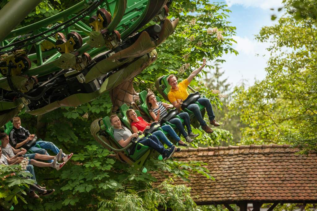 Europa Park Arthur Coaster