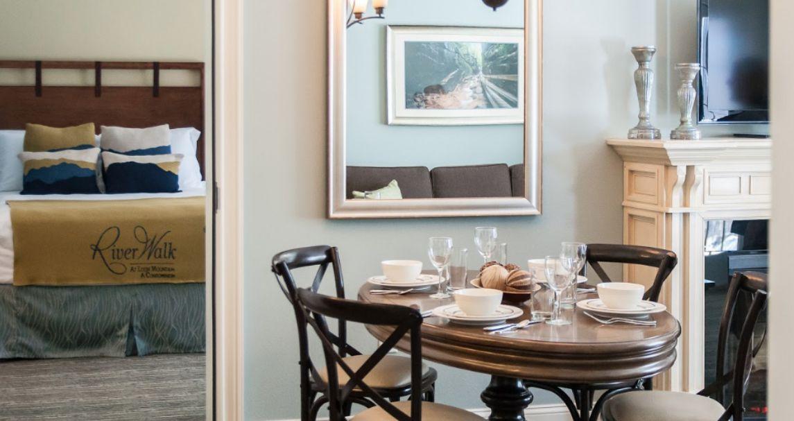 Suite at RiverWalk Resort at Loon Mountain