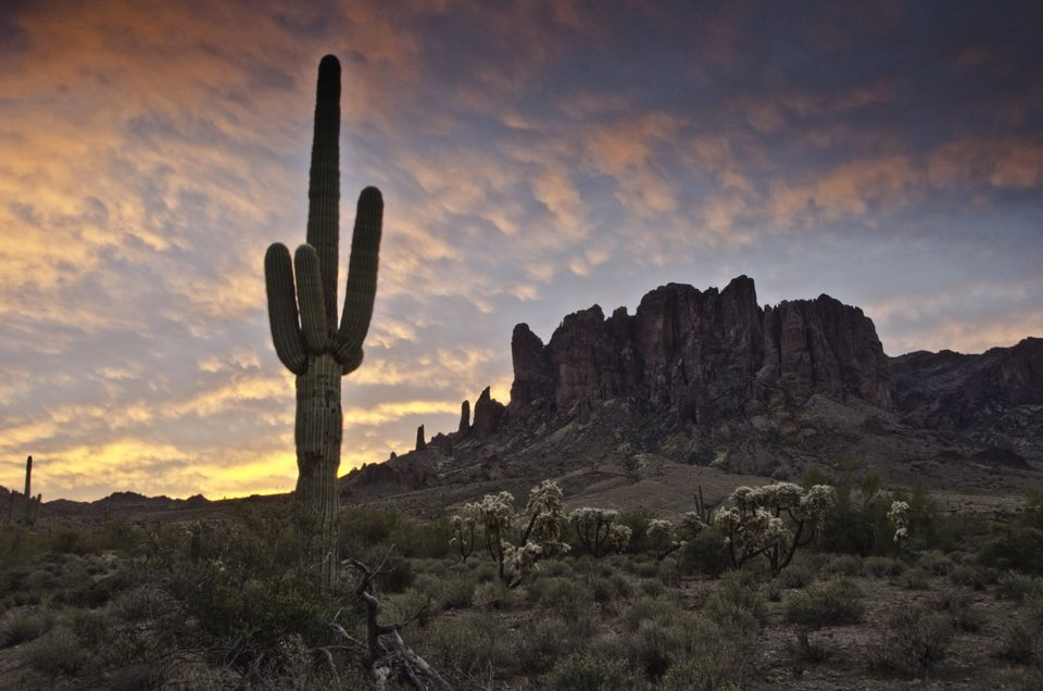 Lost Dutchman State Park, Superstition Mountains