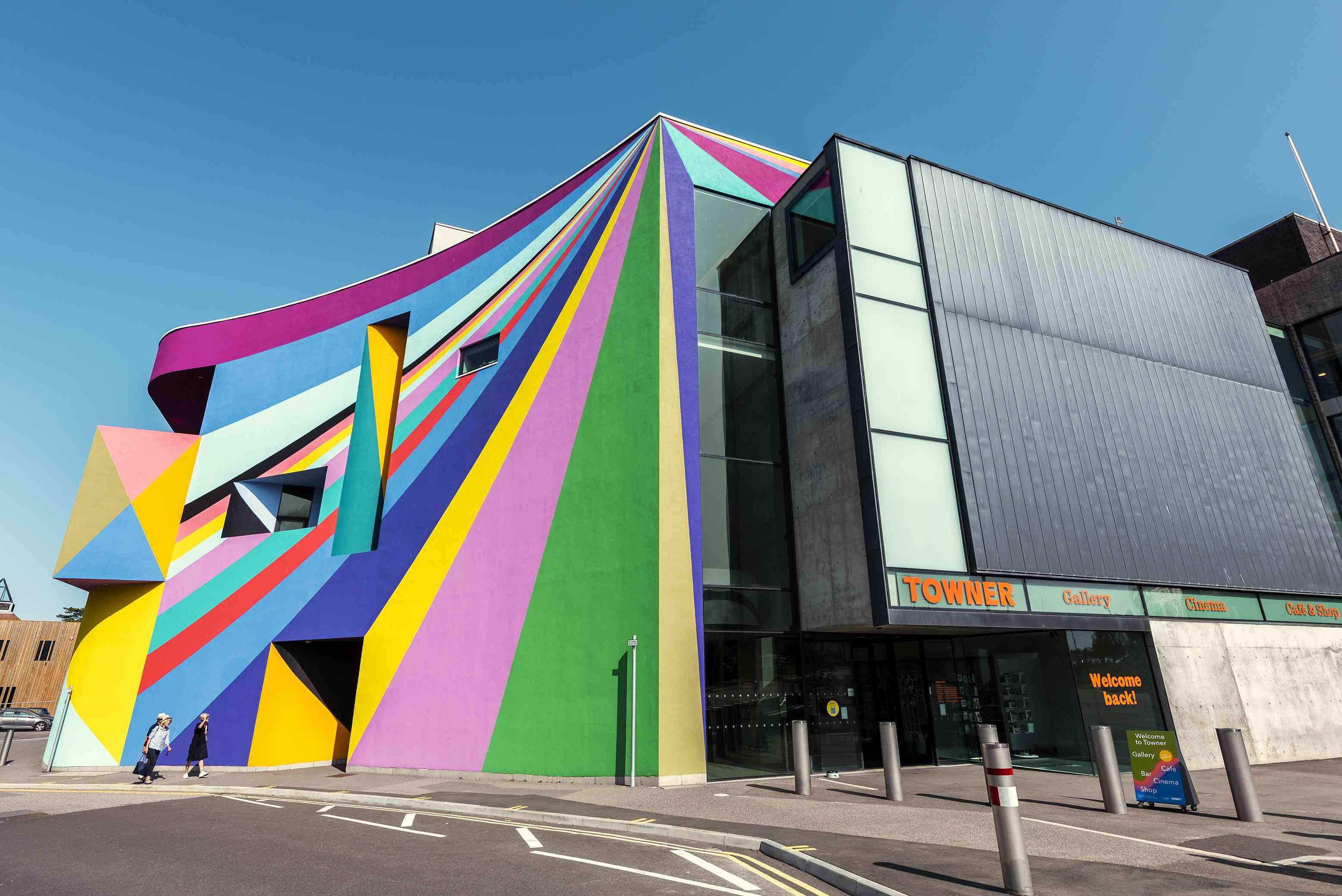Towner Art Gallery in Eastbourne