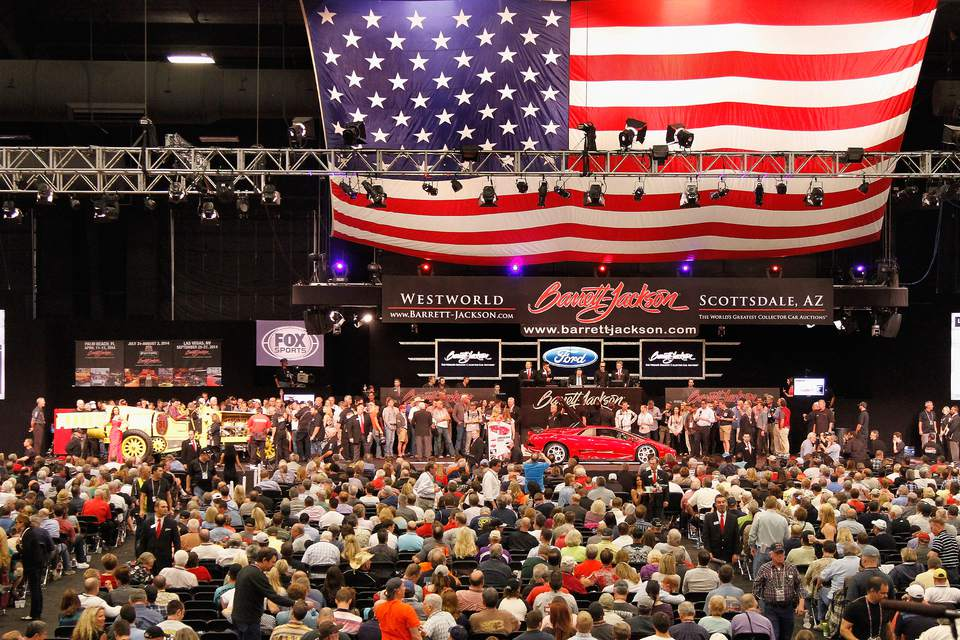43rd Annual Barrett-Jackson Scottsdale Auction