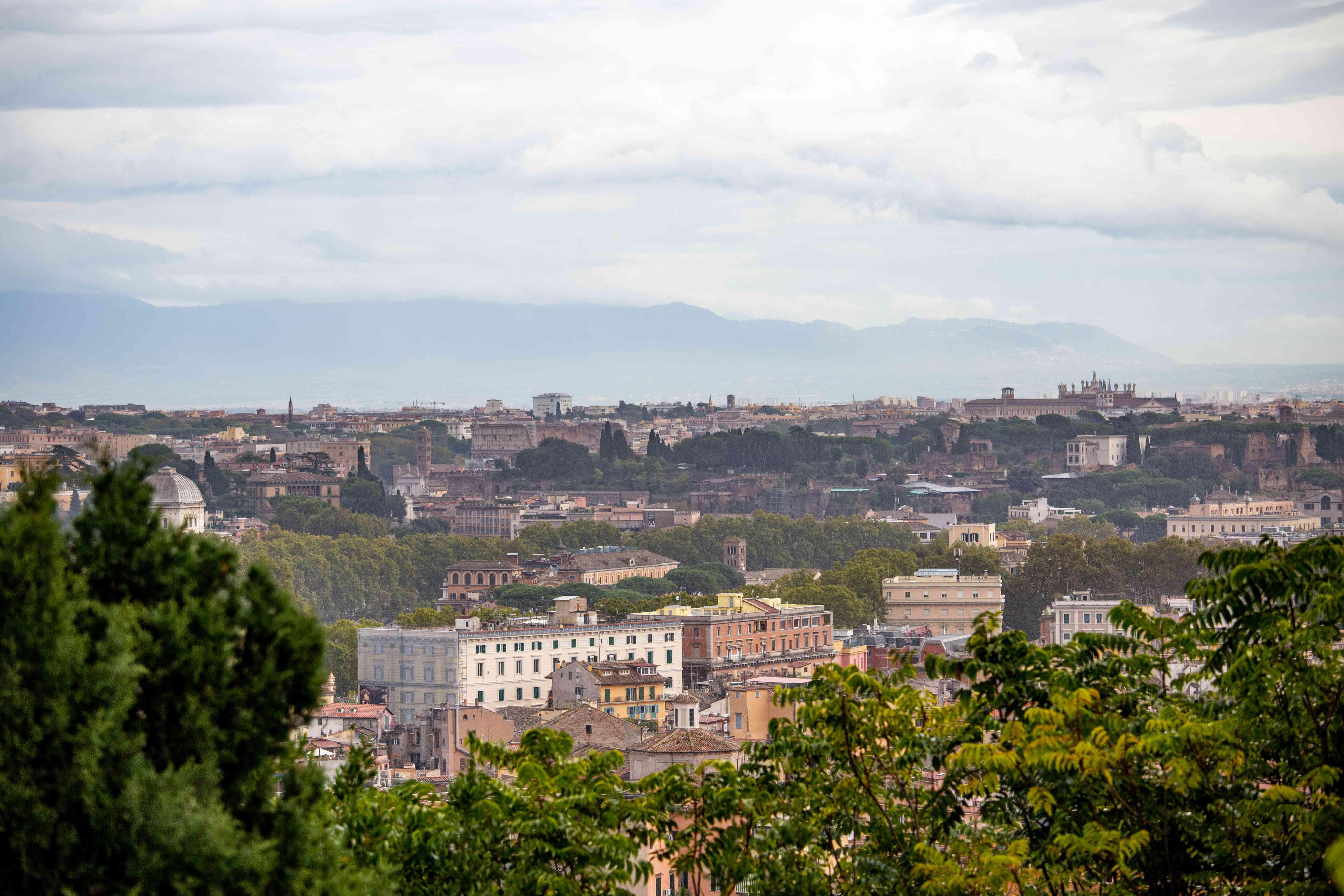 Janiculum Hill in Rome