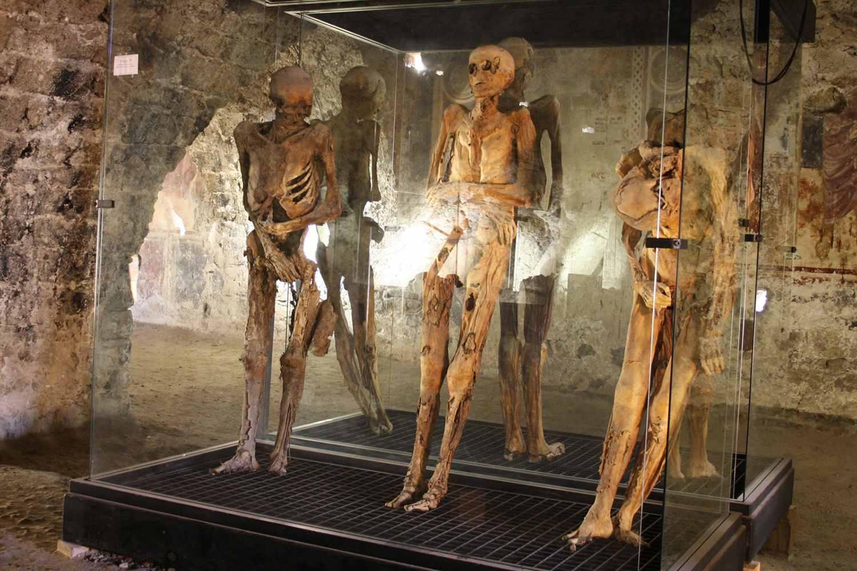 Mummies museum Ferentillo