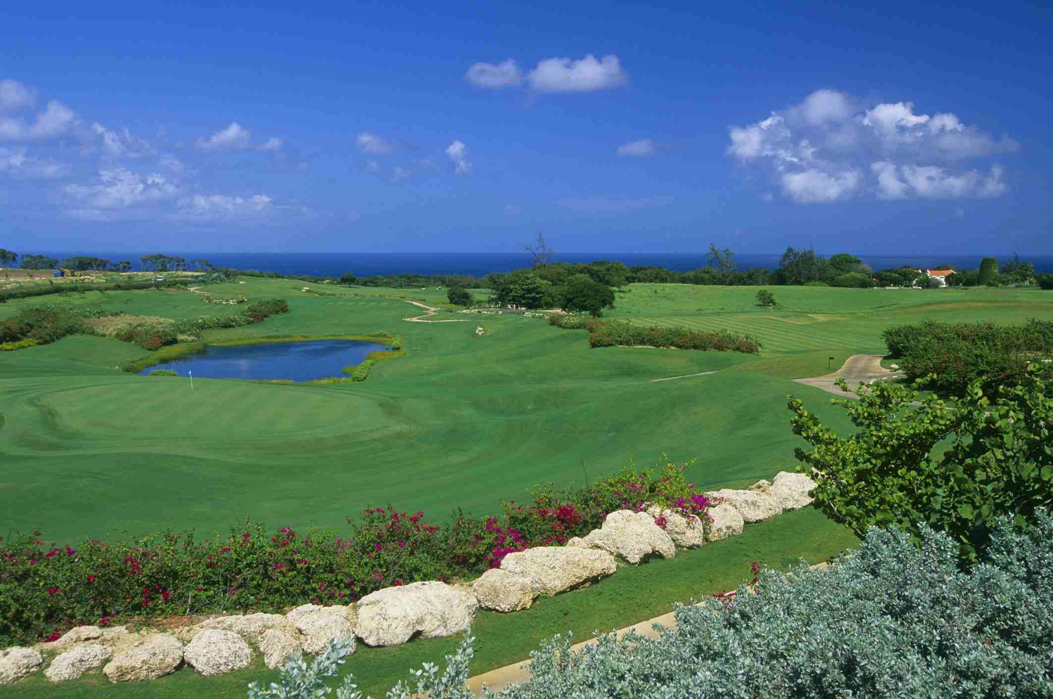 Sandy Lane Golf Club in Barbados.