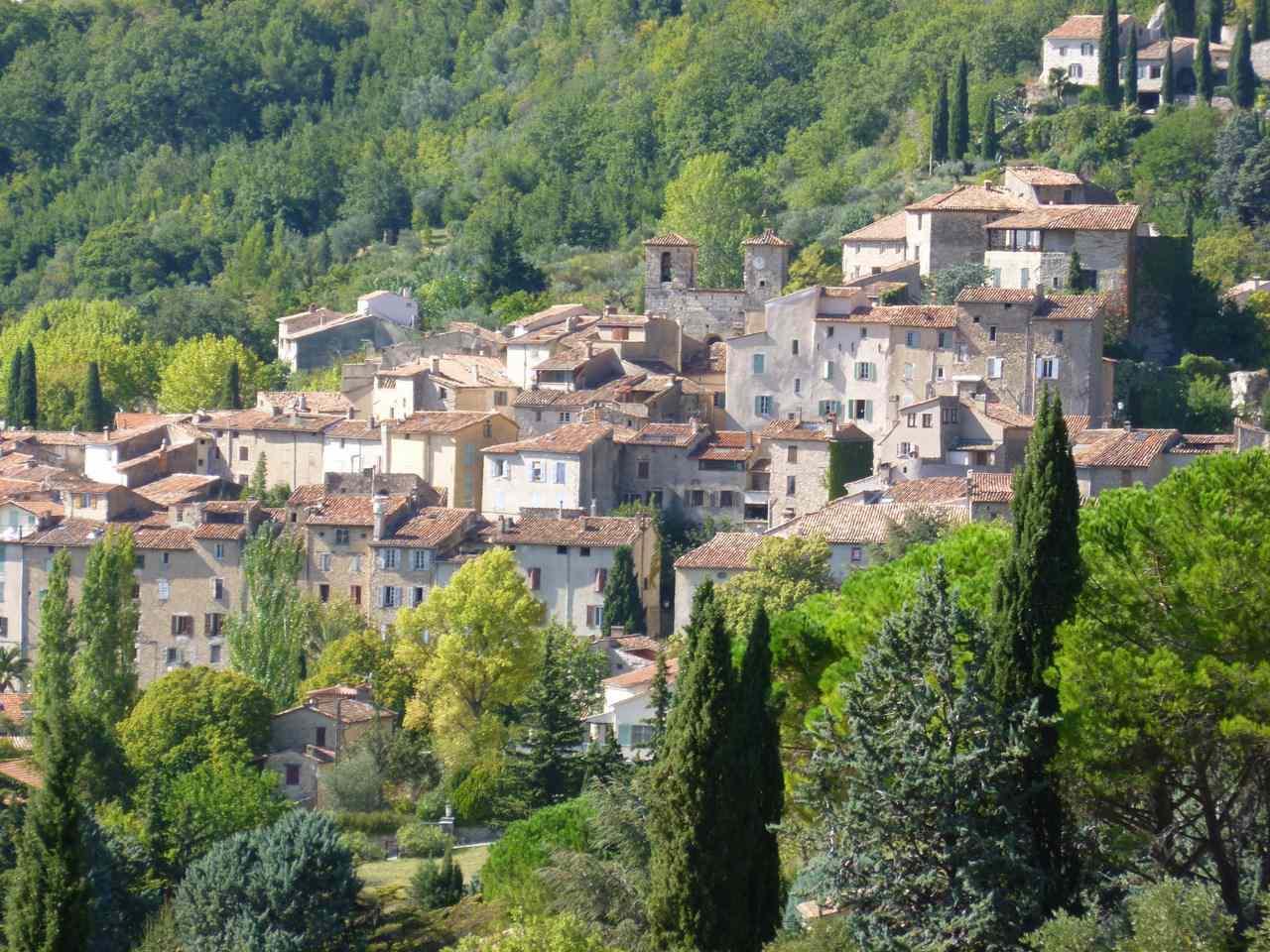 Seillans Hilltop Village in the Var, Provence