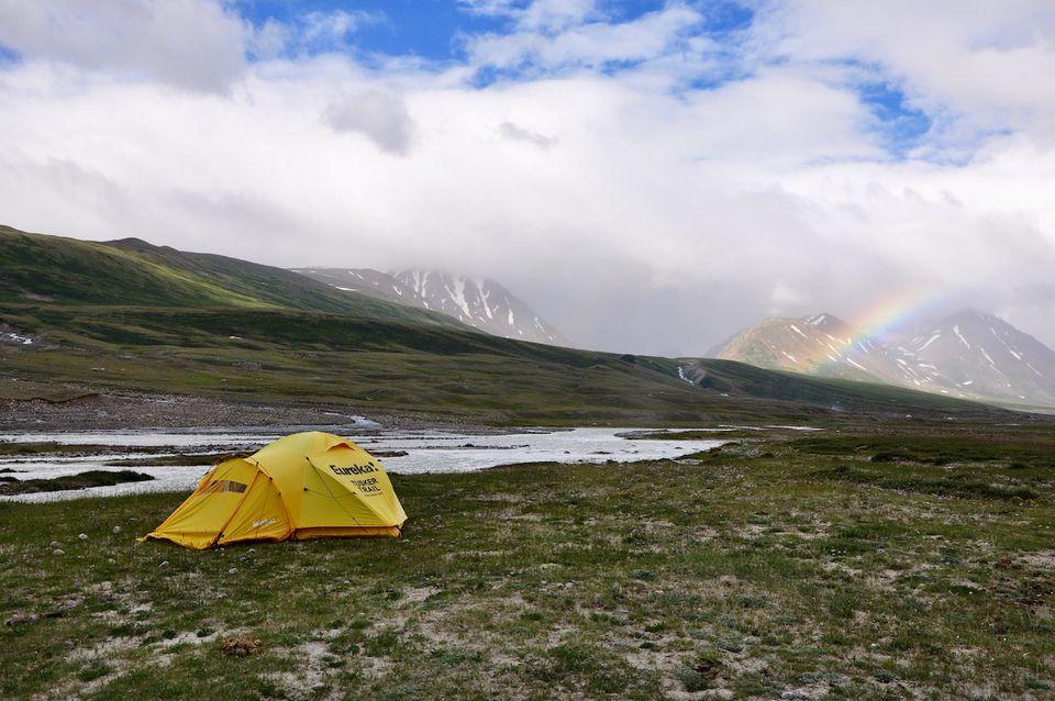 Destinos de camping de primavera