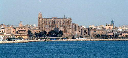 La Seu, the largest cathedral in Palma de Mallorca