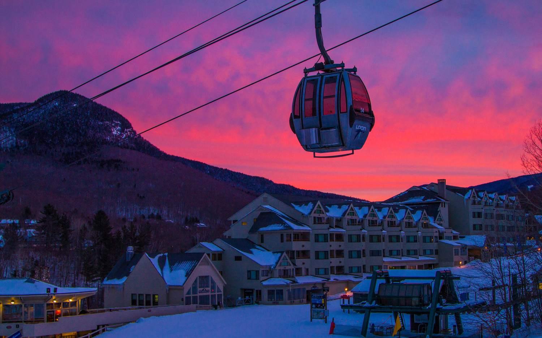 Loon Mountain Lincoln NH Ski Town