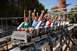 Full Throttle coaster Six Flags