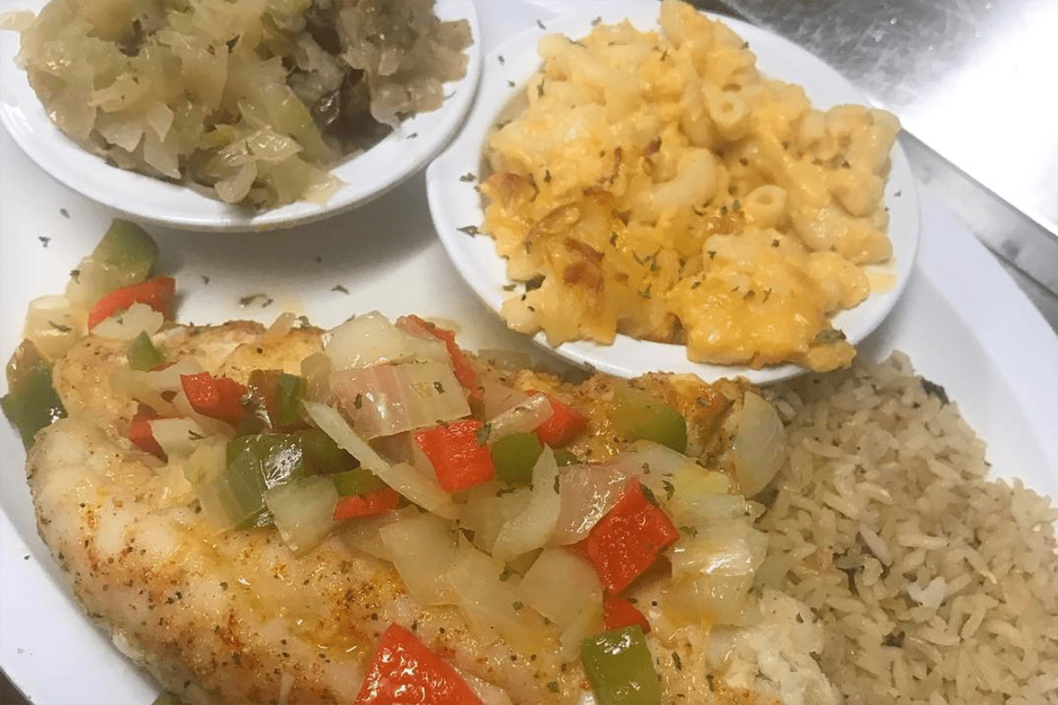 Soul food at Betty's Soul Food Restaurant
