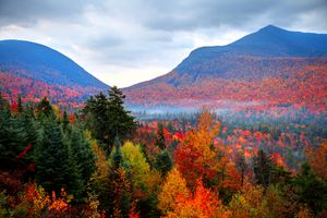 New Hampshire White Mountains in the Fall